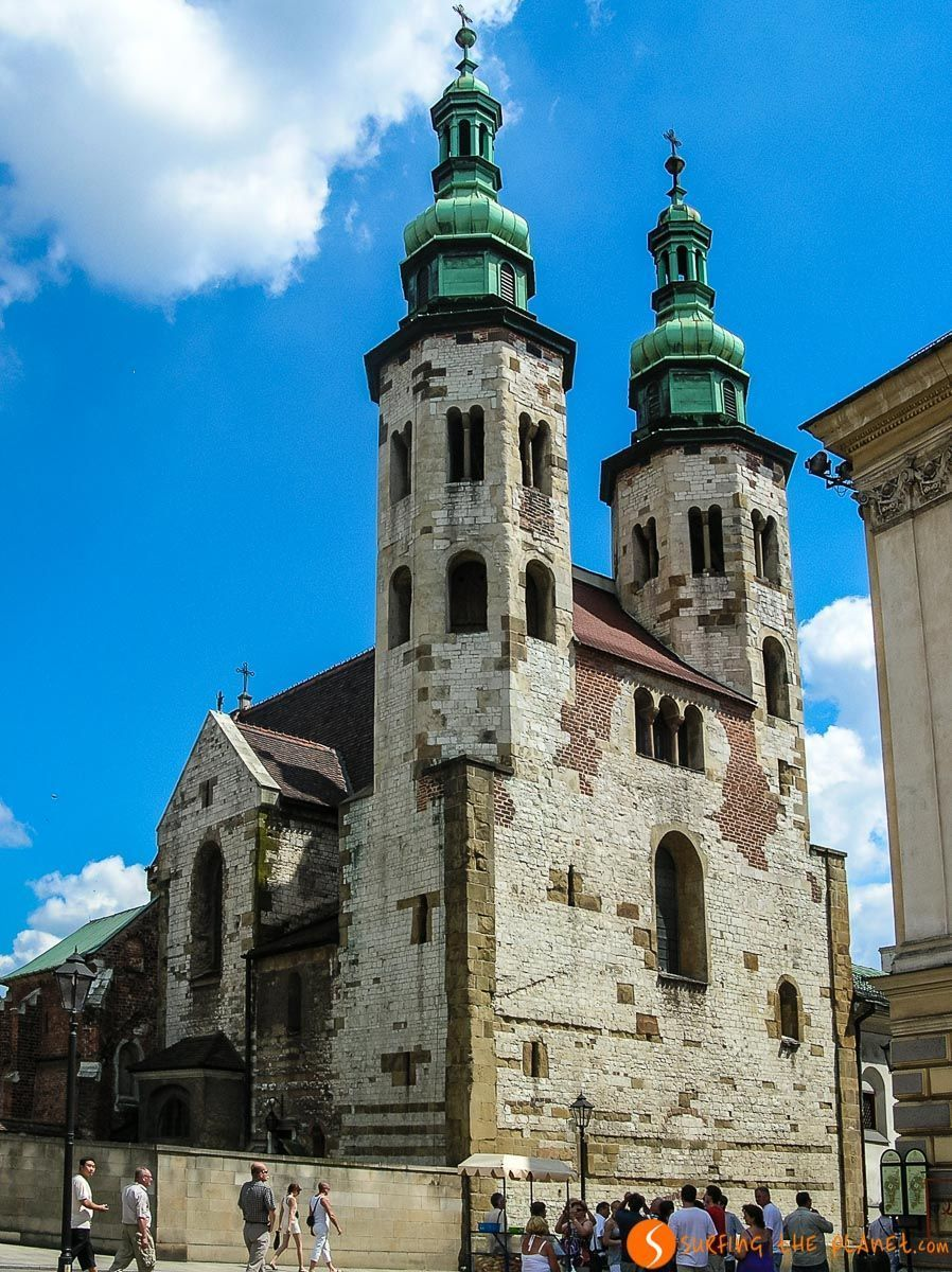 Iglesia de San Andrés, Cracovia, Polonia