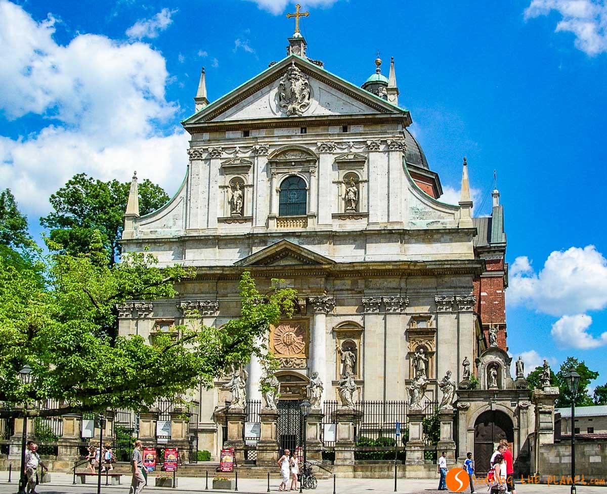 Iglesia de San Pedro y Pablo, Cracovia, Polonia | Qué ver y hacer en Cracovia en 3 días