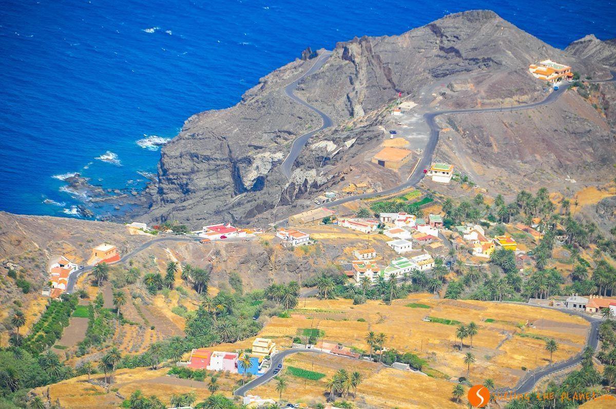 Mirador de Alojera, La Gomera, Canarias, España