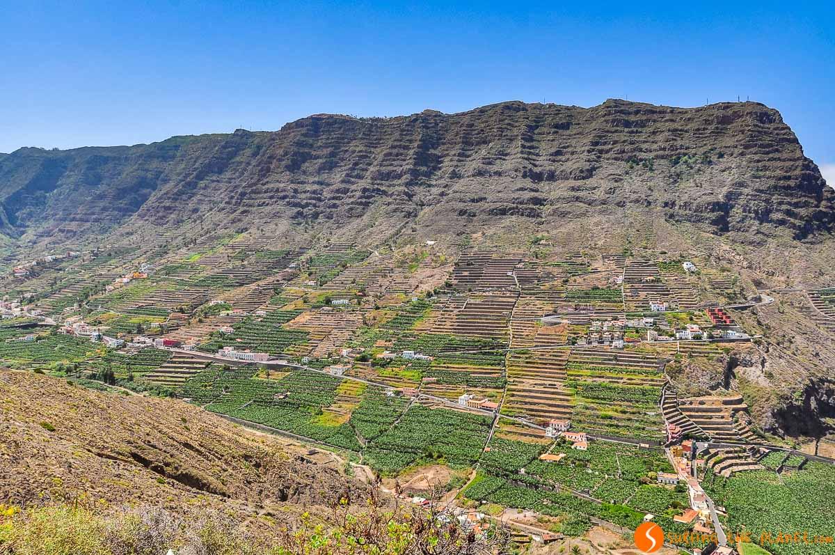 Paisaje típico, La Gomera, Canarias, España | Qué ver y hacer en La Gomera