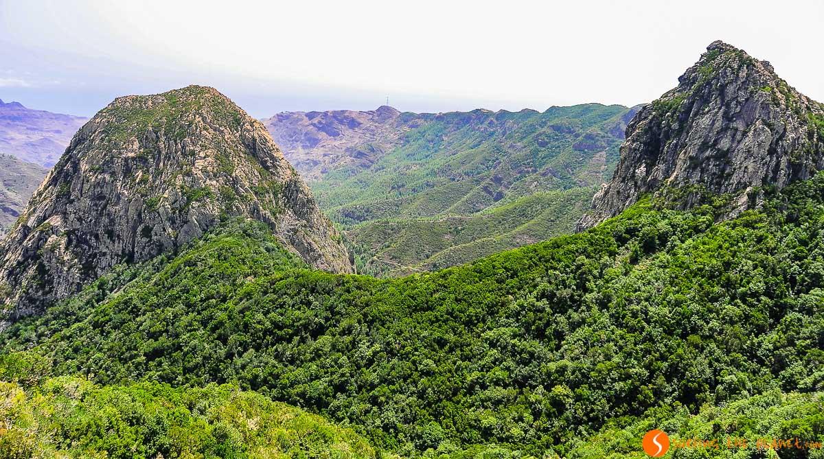 Vistas, Parque Nacional de Garajonay, La Gomera, Canarias, España