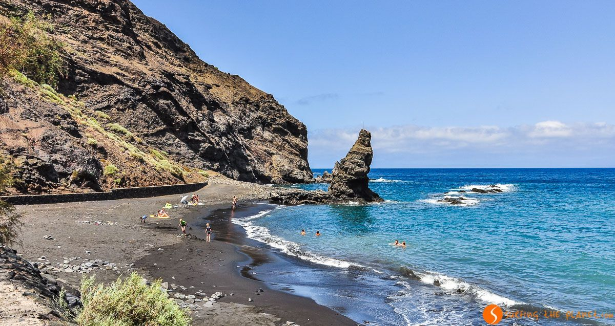 Playa de la Caleta, La Gomera, Islas Canarias, España