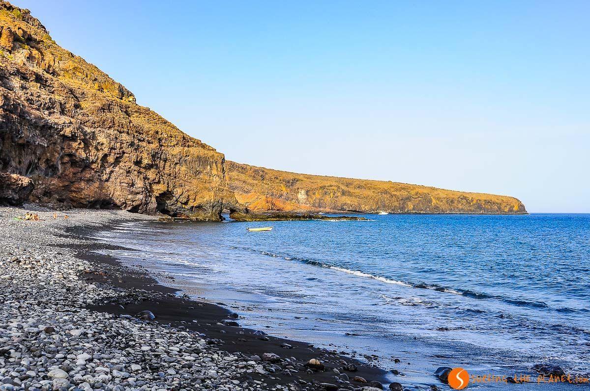 Playa del Medio, La Gomera, Islas Canarias, España | Qué ver y hacer en La Gomera en 3 días