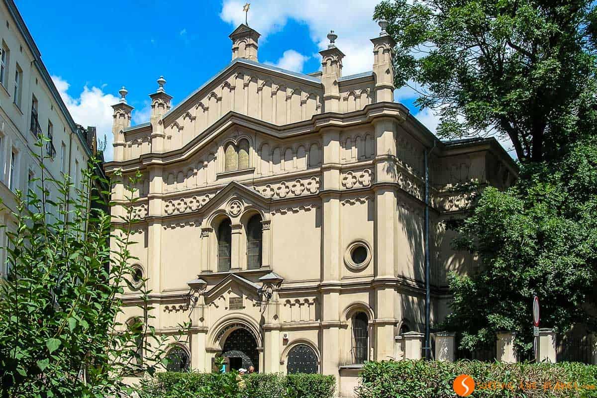 Sinagoga Tempel, Cracovia, Polonia