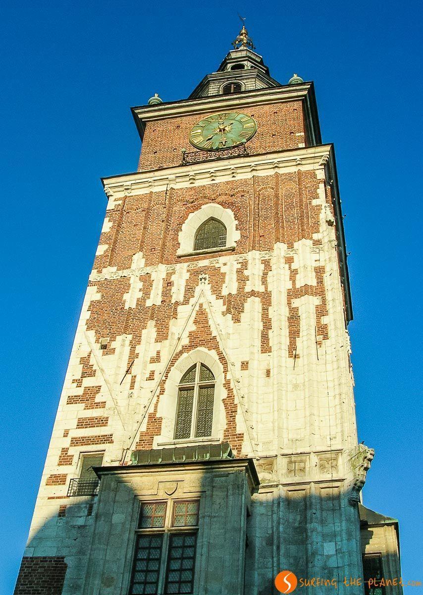 Torre del Antiguo Ayuntamiento, Cracovia, Polonia