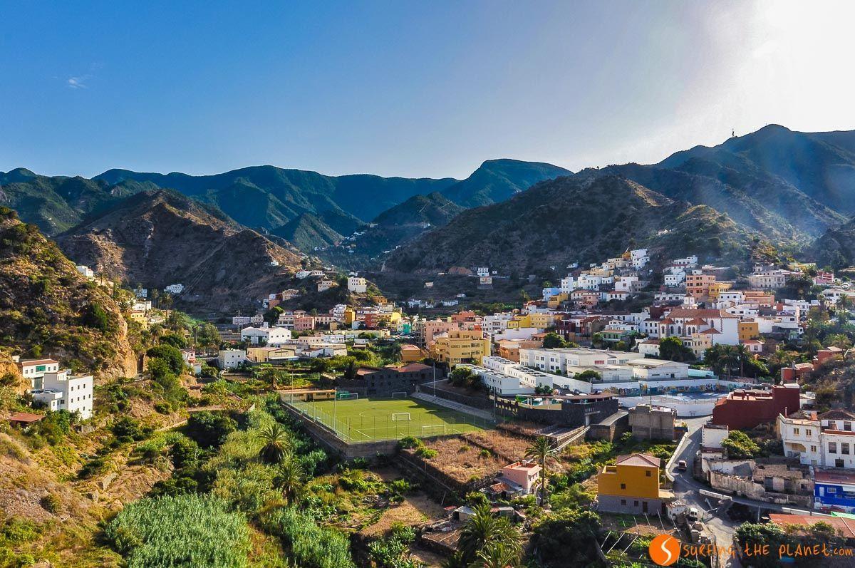 Vallehermoso, La Gomera, Canarias, España