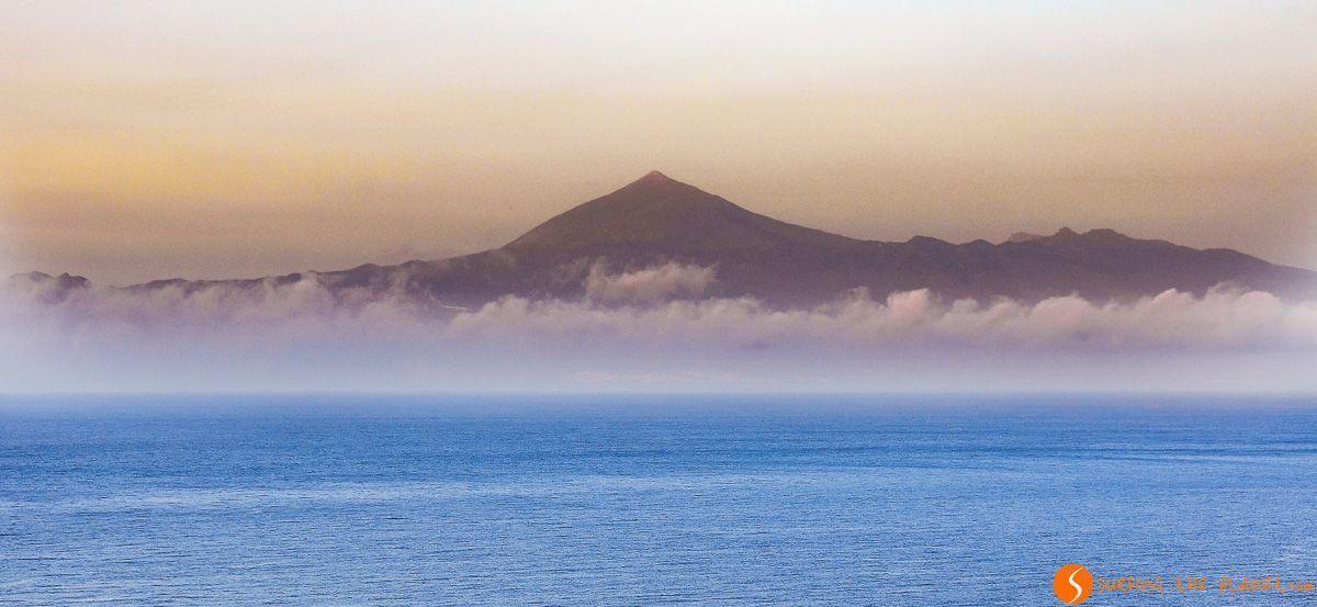 Vistas del Teide desde La Gomera, Canarias, España | Ruta por La Gomera en 3 días