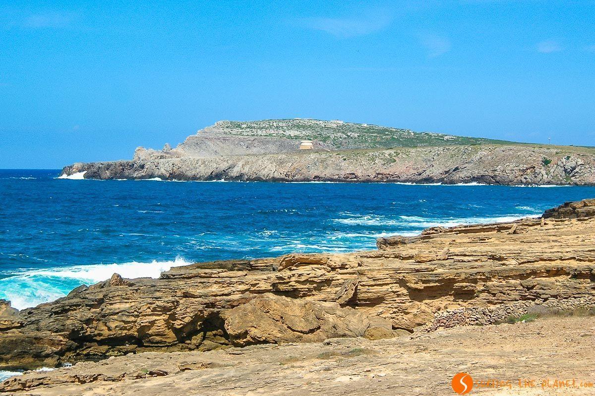 Acantilados de Fornells, Menorca, España