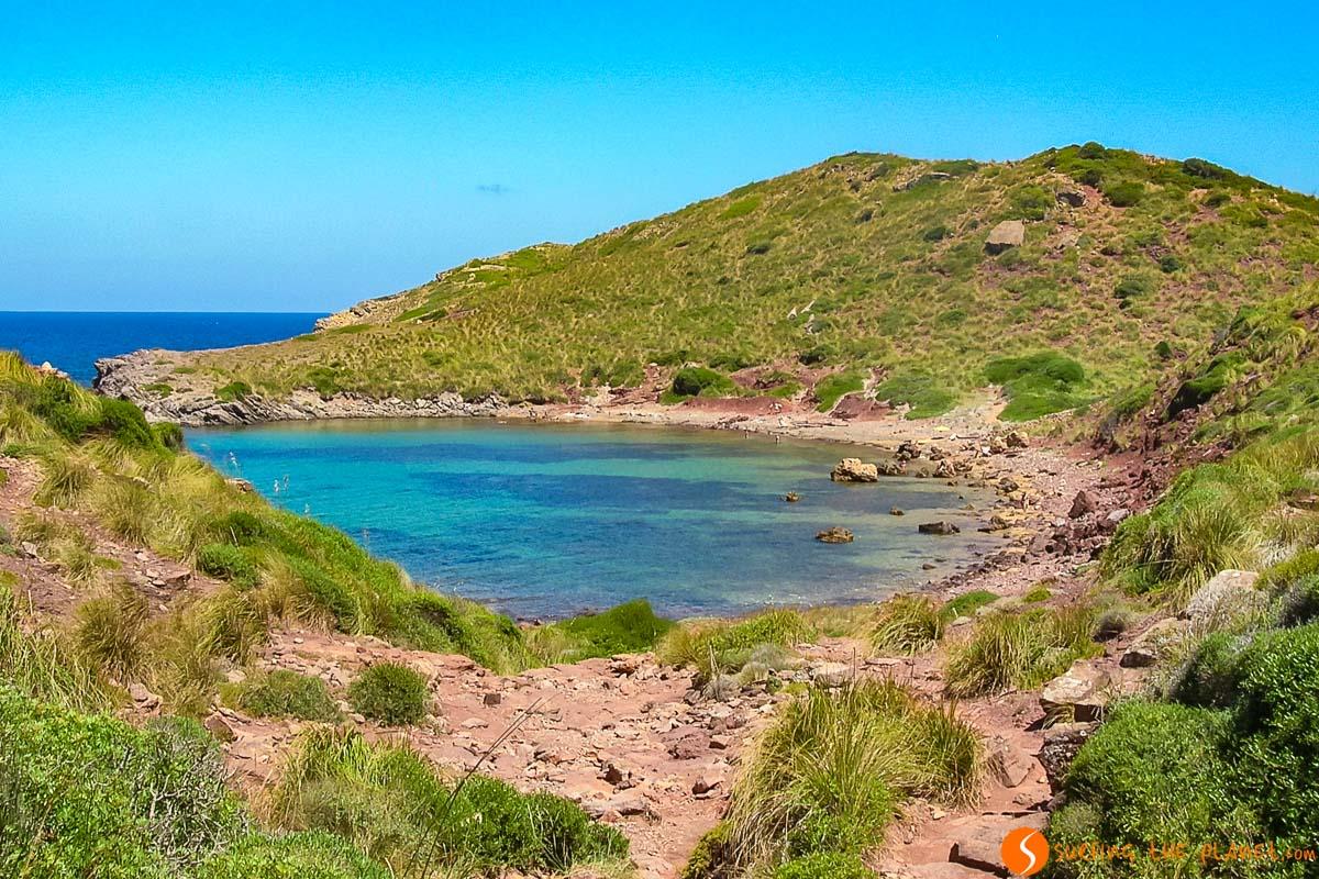 Cala Roja, Menorca, España