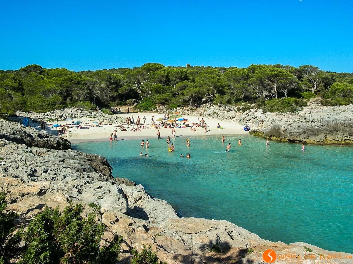 Playa Arena Blanca, Menorca, España