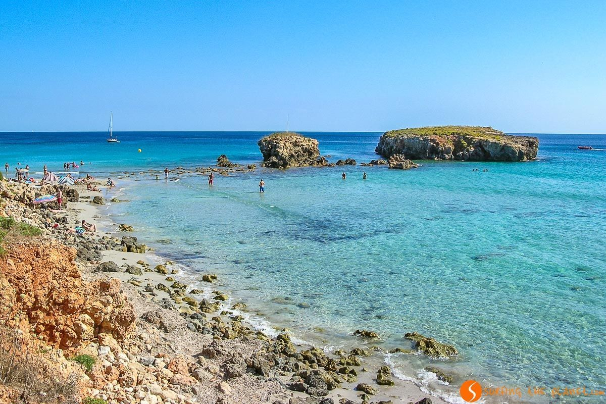 The 25 best BEACHES and COVES in MENORCA