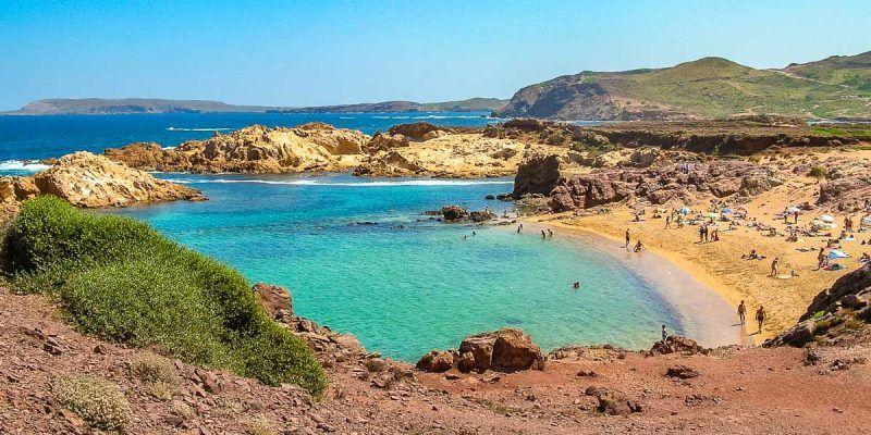 Cala Pregonda, Menorca, España