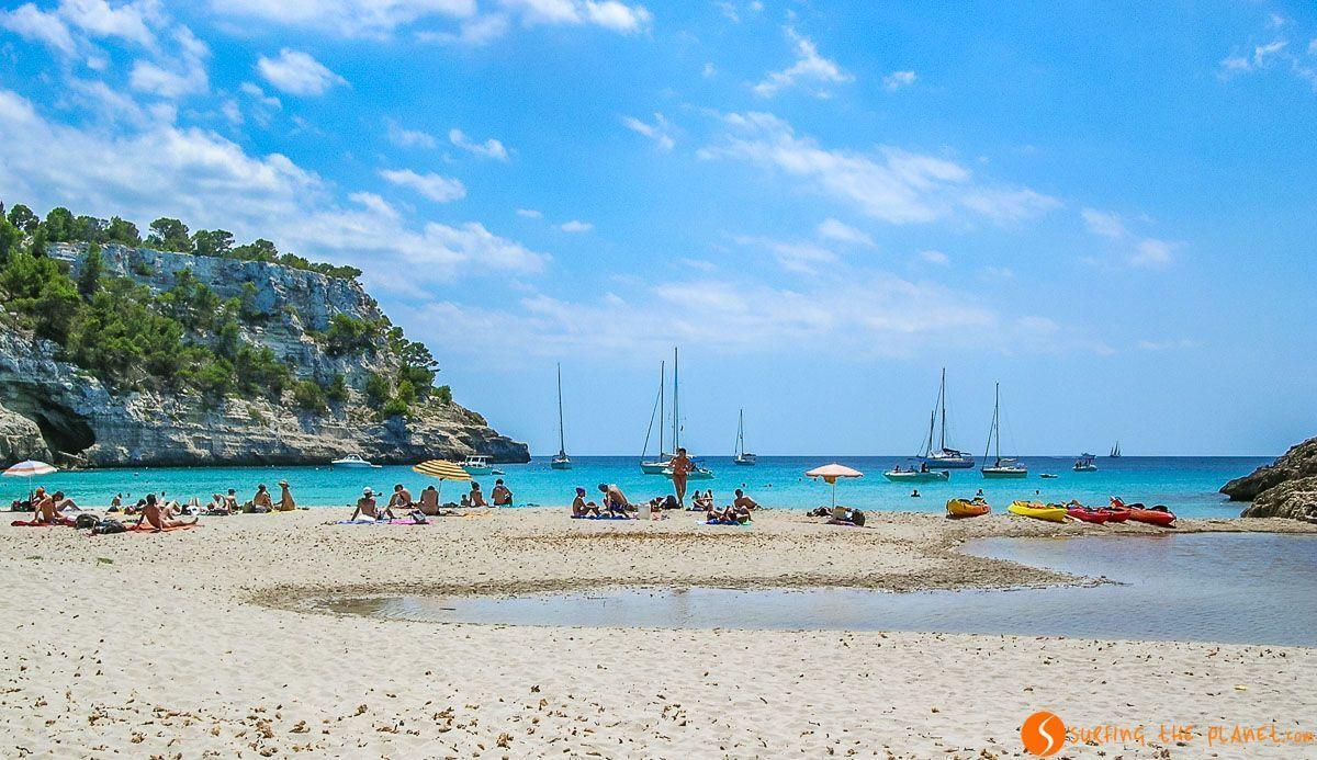 Playa Macarella, Menorca, España | 12 imprescindibles que ver y hacer en Menorca