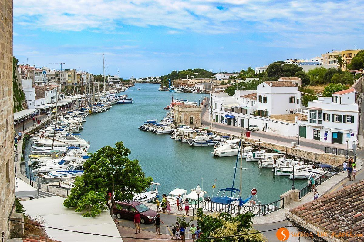 Puerto de Ciudadela, Menorca, España | Viaje a Menorca