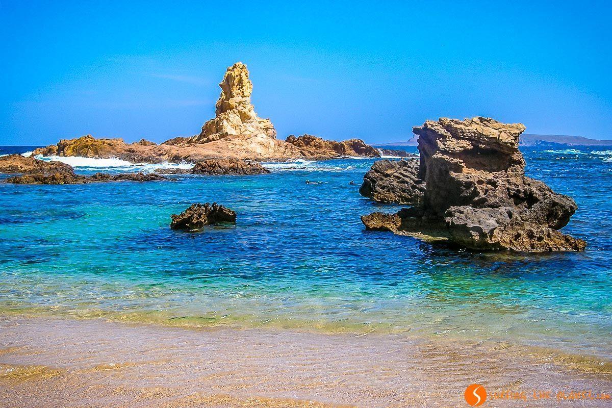 Rocas de Cala Pregonda, Menorca, España