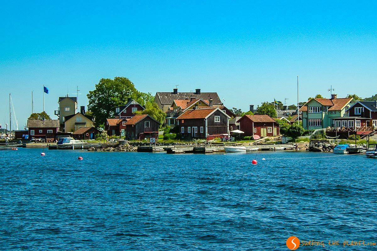 Grupo de casas, Archipiélago de Estocolmo, Suecia | Qué ver y hacer en Estocolmo y sus alrededores