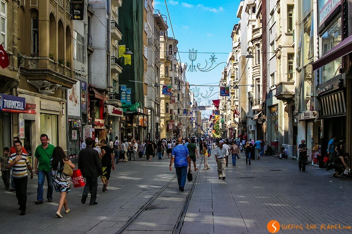 Avenida de la Independencia, Estambul, Turquía | Qué ver y hacer en Estambul en 3 días