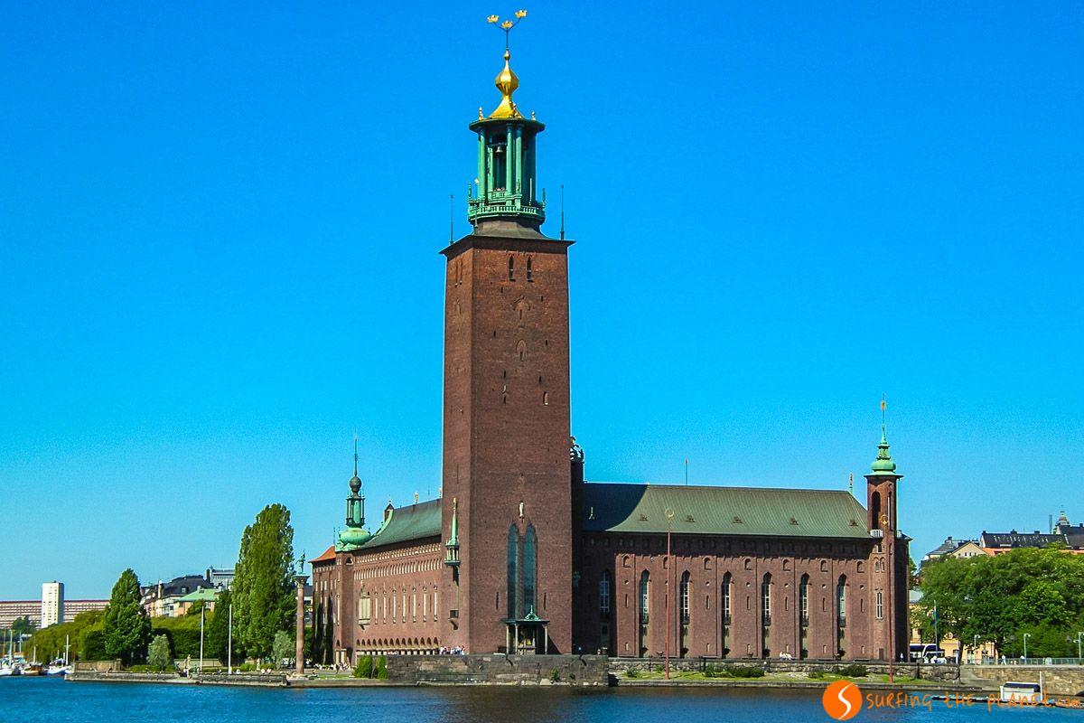 Ayuntamiento, Estocolmo, Suecia