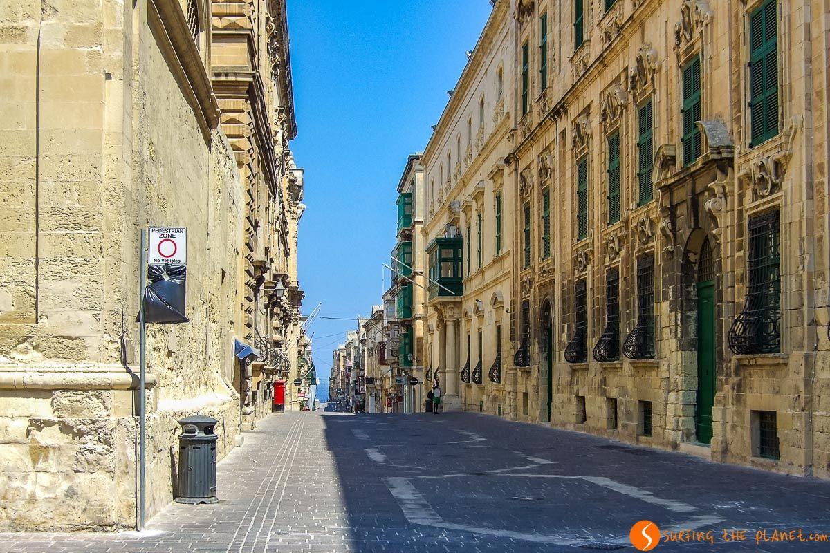 Balcones pintorescos, La Valeta, Malta