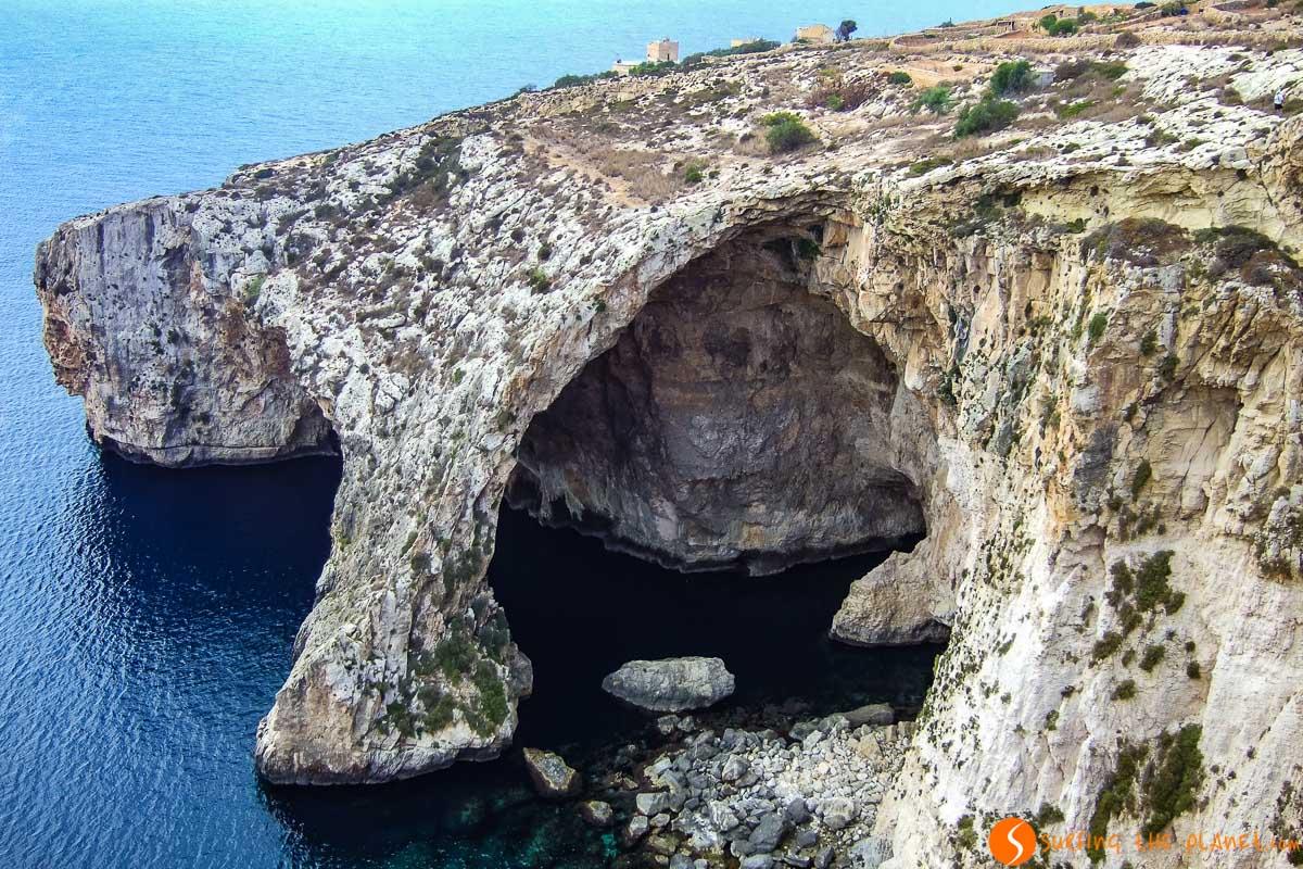 Exterior del Blue Grotto, Malta | Qué ver en Malta