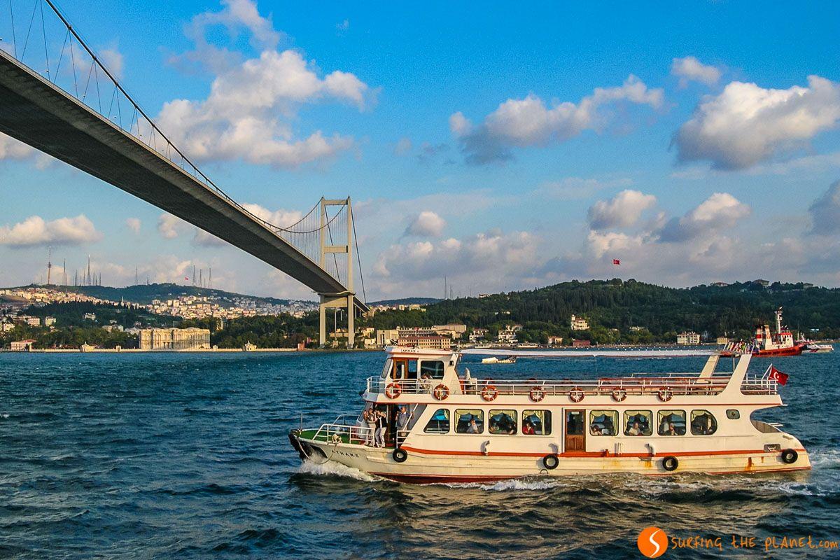Crucero en el Bósforo, Estambul, Turquía | Viaje a Estambul en 3 ó 4 días