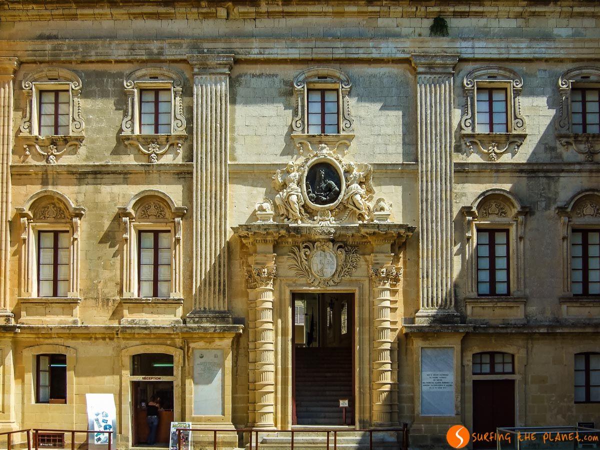 Fachada palacio antiguo, Mdina, Malta