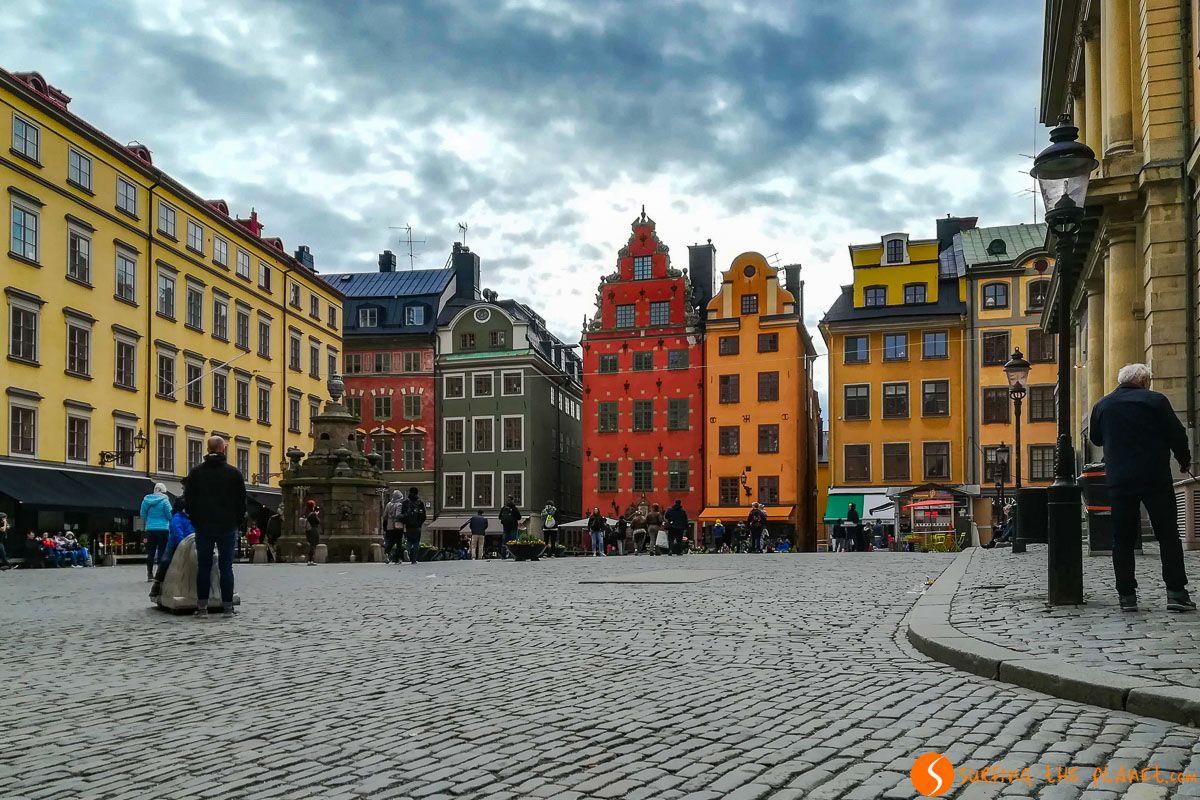 Plaza Stortoget, Barrio Gamla Stan, Estocolmo, Suecia | Los mejores 200+ free tours de Europa en español