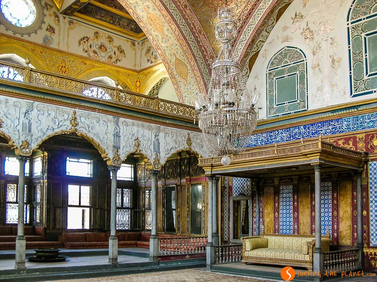 Harén, Palacio Topkapi, Estambul, Turquía