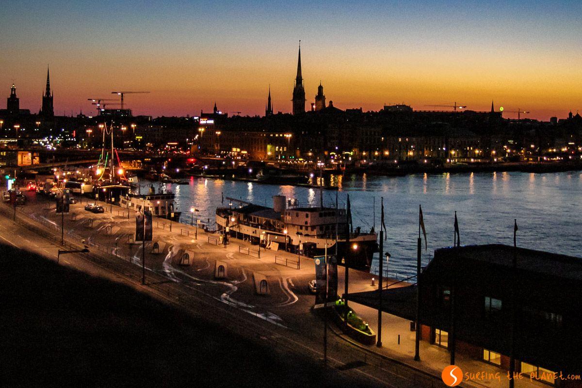 Luces de noche, Estocolmo, Suecia | Qué ver y hacer en Estocolmo en dos días