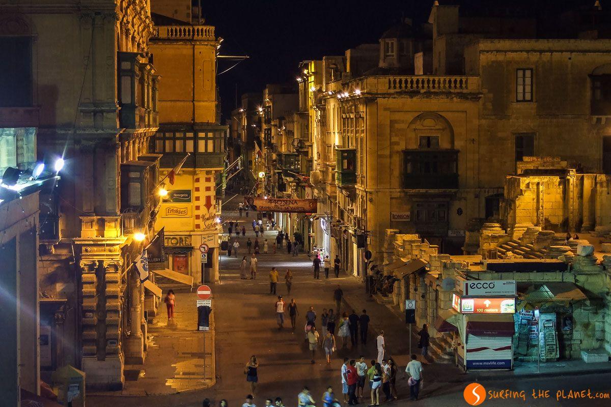 Luces nocturnas, La Valeta, Malta | Los 200+ free tours en español