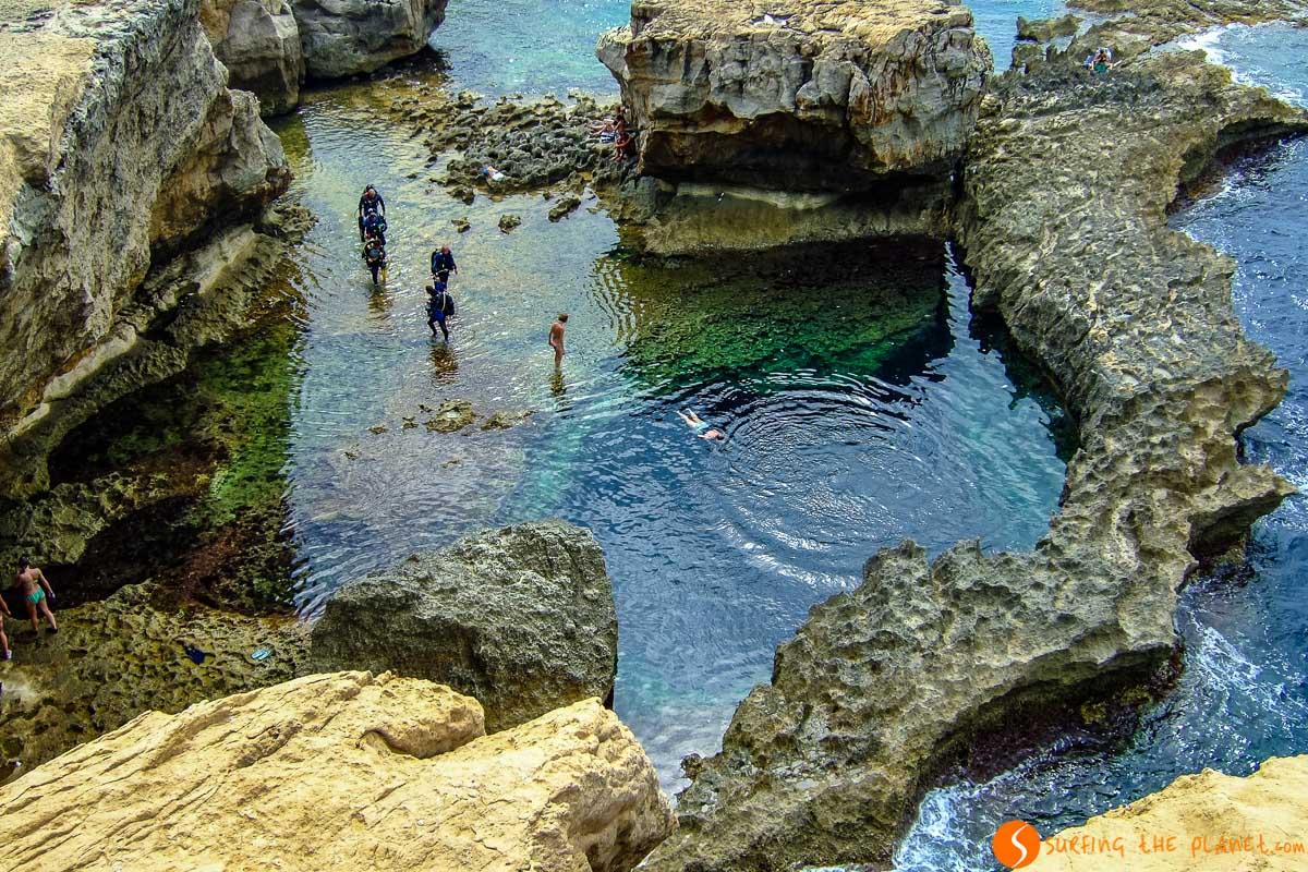 Lugar para hacer snorkel, Gozo, Malta | Qué ver y hacer en Malta