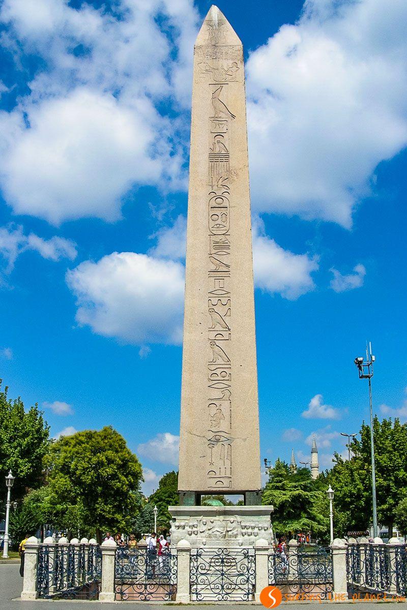 Obelisco Egipcio, Estambul, Turquía | Qué ver en Estambul en 3 días