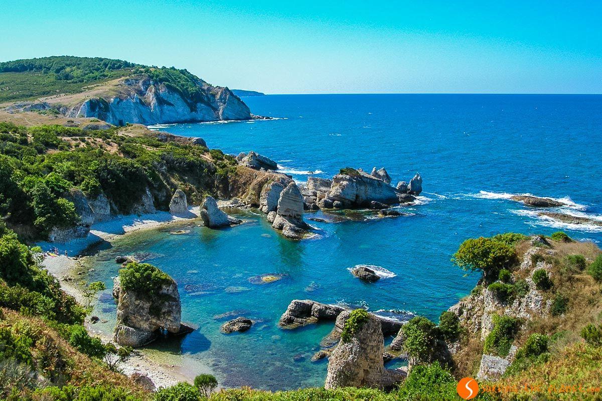 Playas cerca de Agva, Mar Negro, Turquía