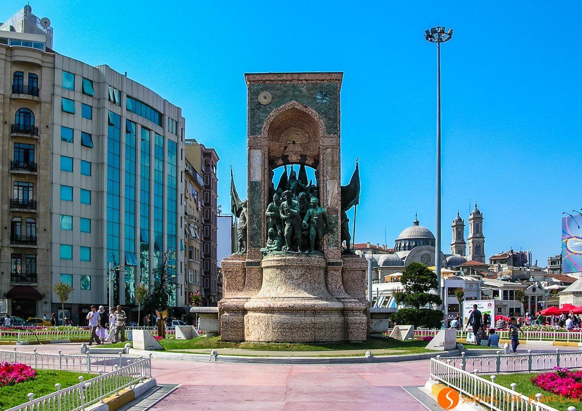 Plaza de Taksim, Estambul, Turquía