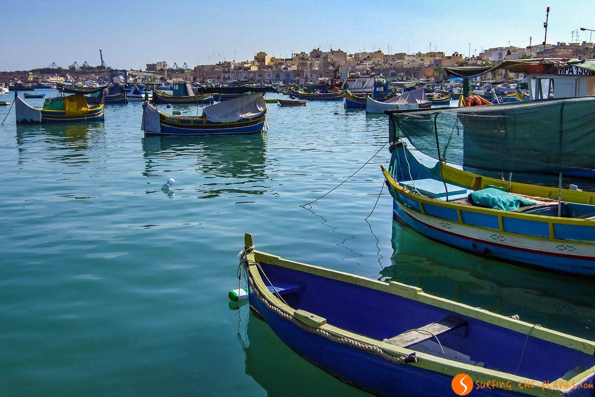 Puerto de Marsaxlokk, Malta