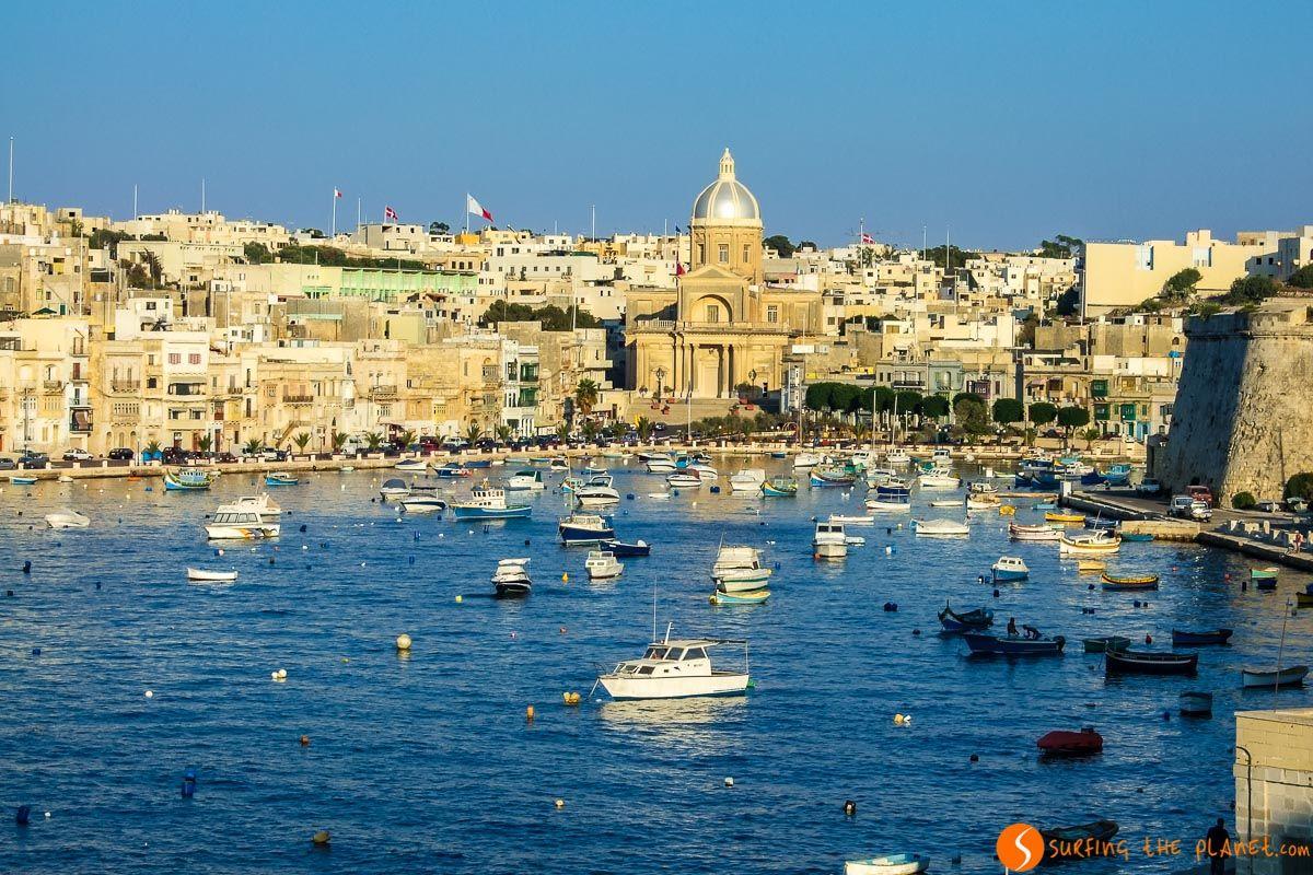 Puerto de tres ciudades, Malta | 20 Cosas que ver y hacer en Malta