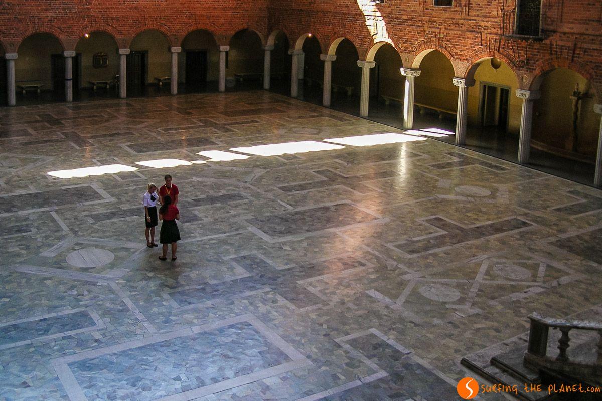 Salón Azul, Ayuntamiento, Estocolmo, Suecia | Qué hacer y ver en Estocolmo