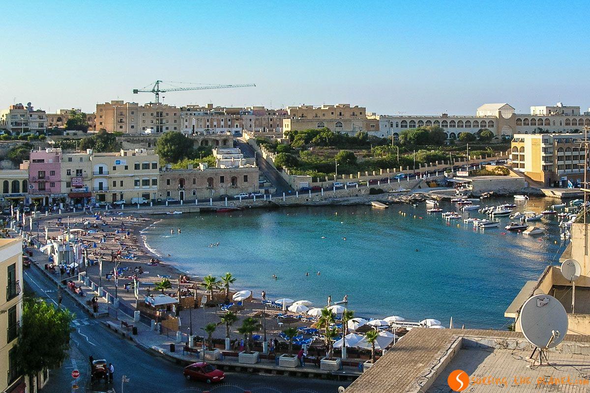 St. George's Bay, St. Julian's, Malta | Viaje a Malta