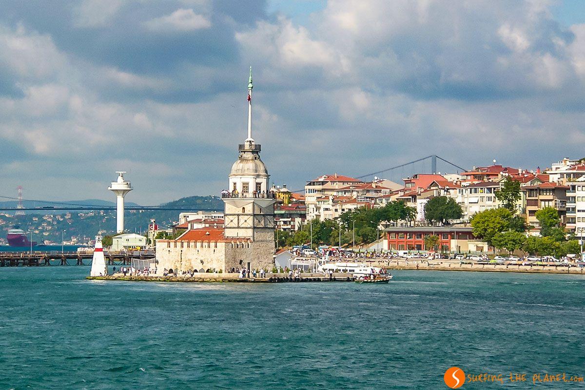 Torre Leandro, Estambul, Turquía | Qué ver y hacer en Estambul y sus alrededores