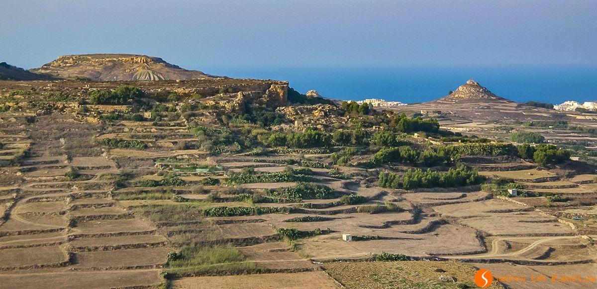 Vista desde la Ciudadela de Victoria, Gozo, Malta | Qué ver en Gozo