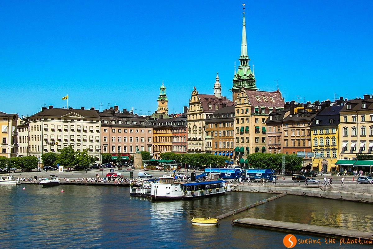 Vistas desde el agua, Estocolmo, Suecia | Qué ver y hacer en Estocolmo