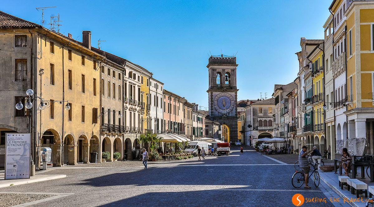 Calle auténtica, Este, Véneto, Italia | Qué ver en el Véneto