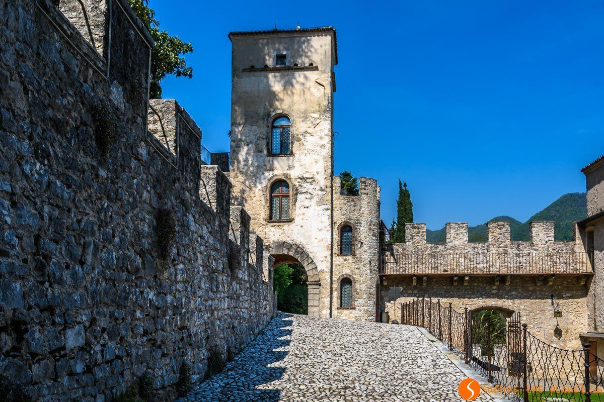 Castillo Brandolini, Cison Valmarino, Véneto, Italia