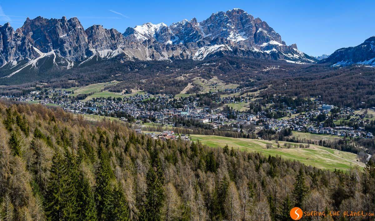 Cortina d'Ampezzo, Dolomitas, Véneto, Italia | Qué visitar en el Véneto