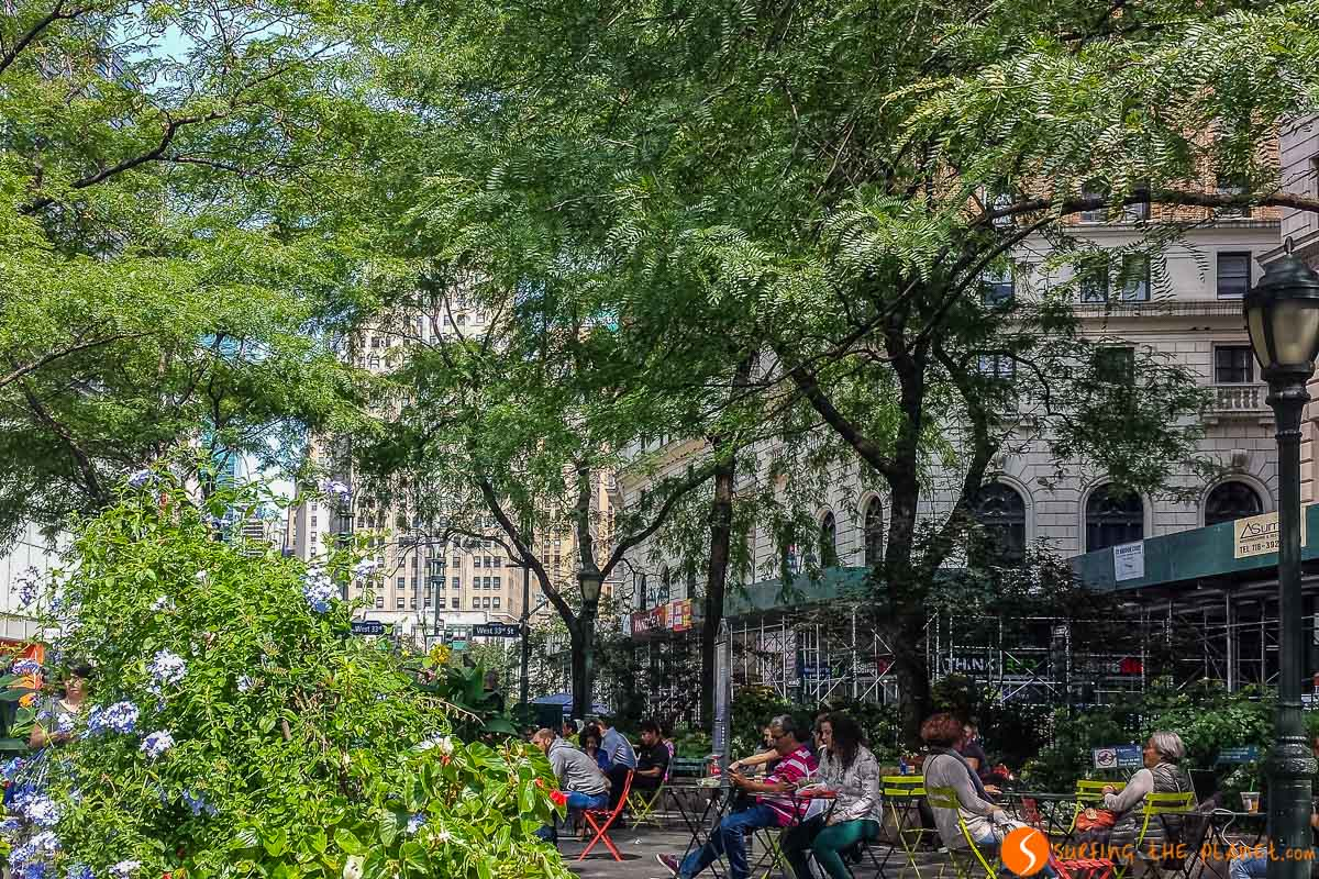 Greeley Square Park, Manhattan, Nueva York | Parques con encanto en Nueva York