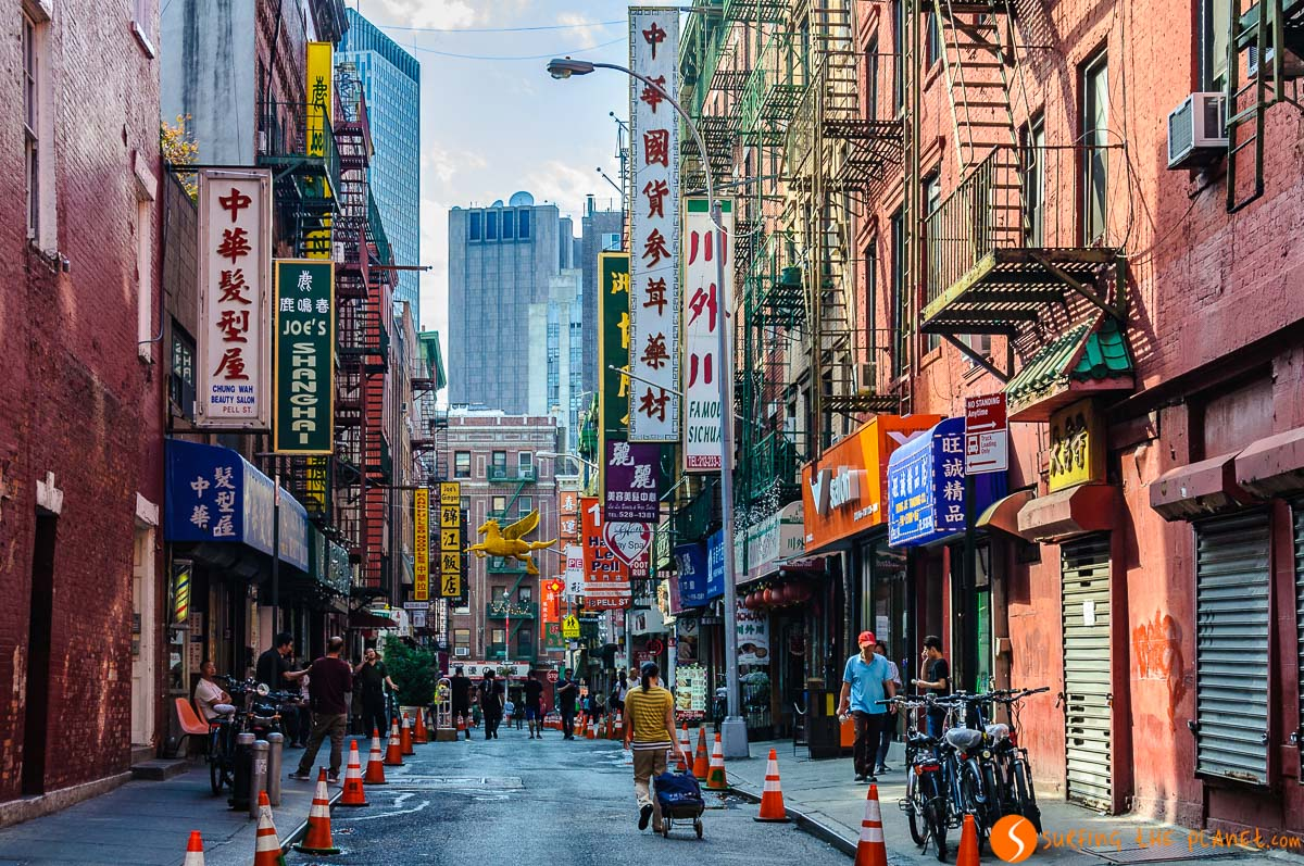 Hoteles en Chinatown, Nueva York