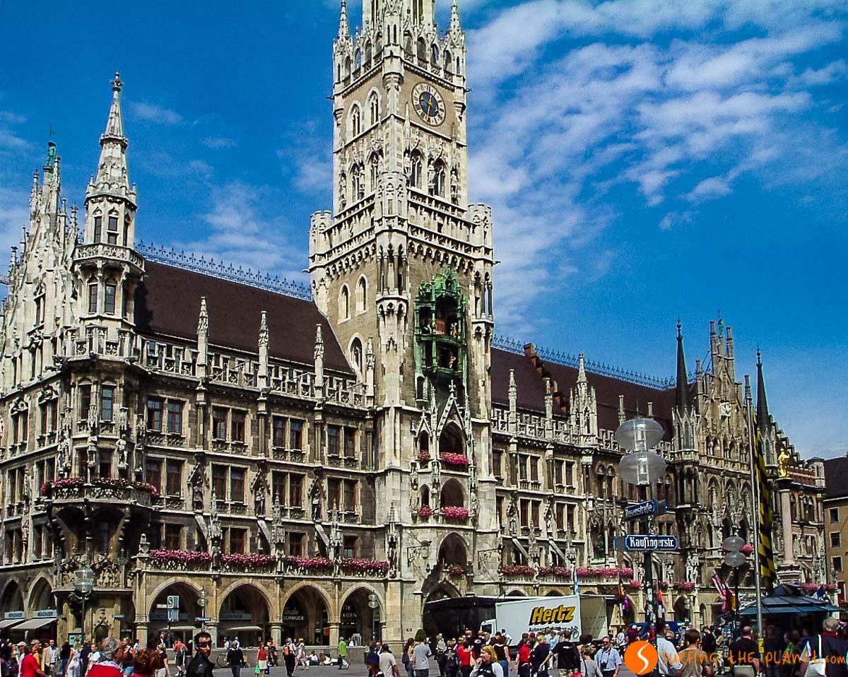 Marienplatz, Múnich, Alemania