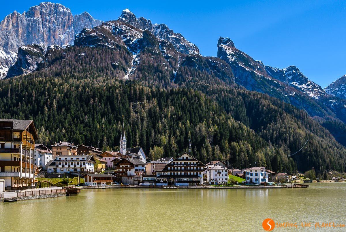 Alleghe, Dolomitas, Véneto, Italia