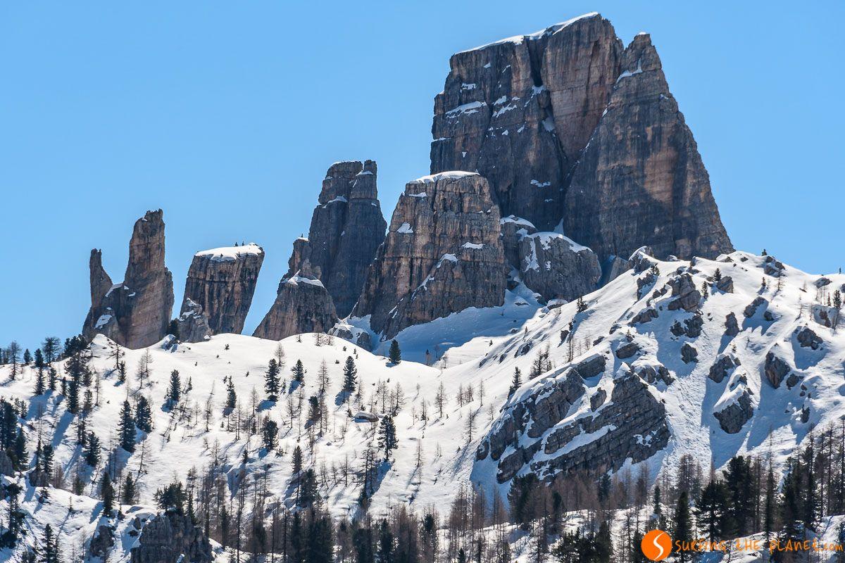 Cinco Torres, Dolomitas, Véneto, Italia | Qué ver y hacer en Véneto