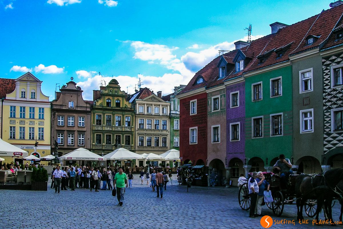 Plaza del Mercado Viejo, Poznan, Polonia | Las mejores visitas guiadas gratis en español por Europa